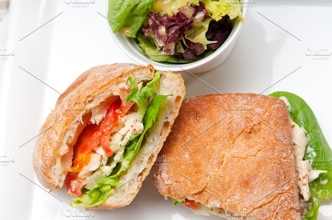 tomato and chicken ciabatta sandwich 07.jpg - Food & Drink