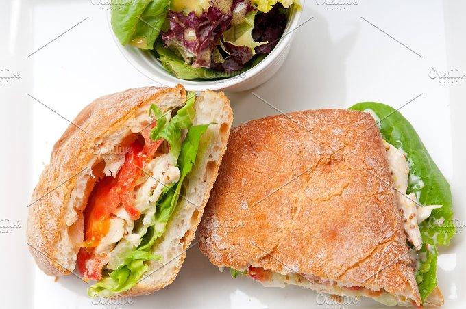 tomato and chicken ciabatta sandwich 08.jpg - Food & Drink