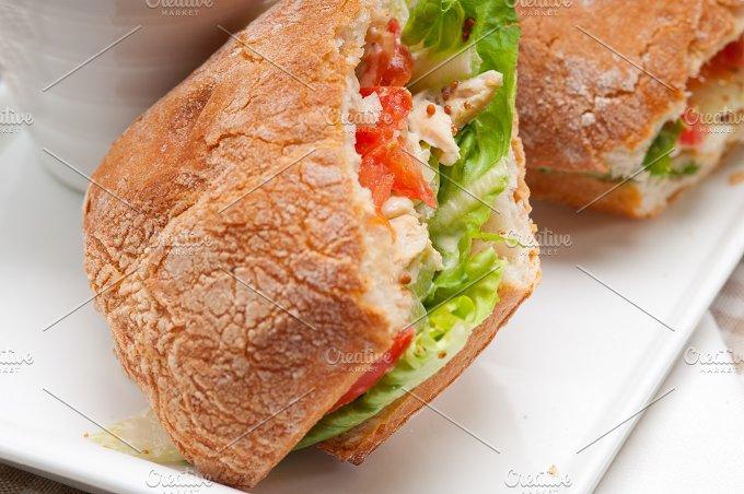 tomato and chicken ciabatta sandwich 17.jpg - Food & Drink