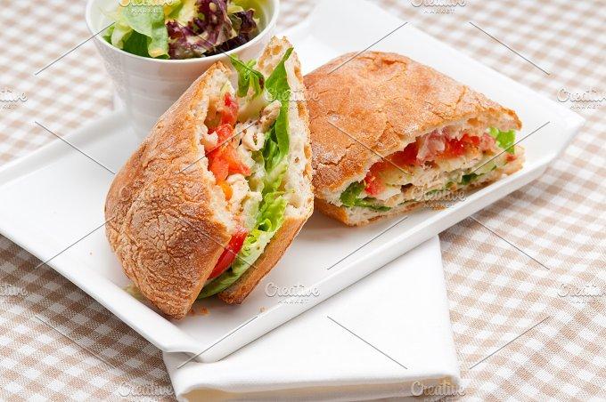 tomato and chicken ciabatta sandwich 10.jpg - Food & Drink