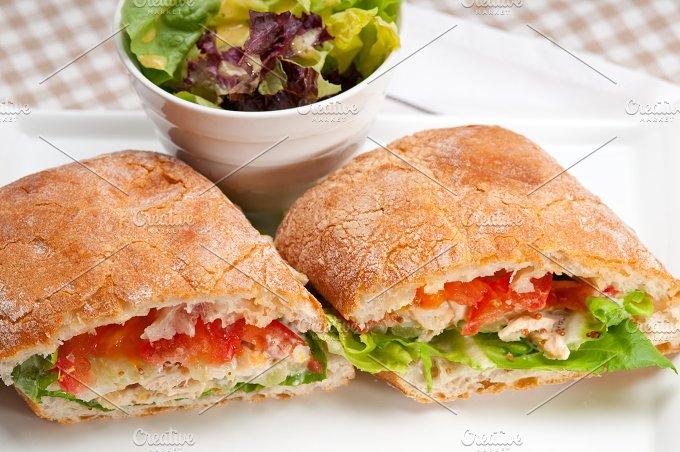 tomato and chicken ciabatta sandwich 25.jpg - Food & Drink