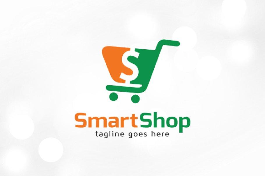 Smart Shop Logo Template | Creative Logo Templates ...