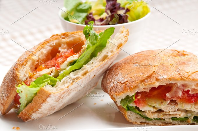 tomato and chicken ciabatta sandwich 13.jpg - Food & Drink