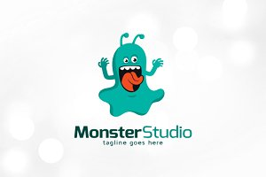 Monster Studio Logo Template