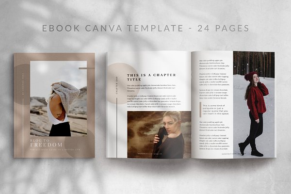 eBook Canva Template | Georgia