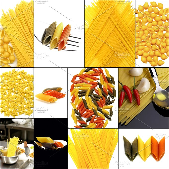 pasta collage 1.jpg - Food & Drink