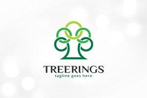 Tree Circle Logo Template