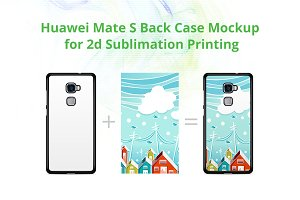 Huawei Mate S 2dCase Mock-up