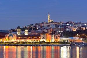 Dusk in Istanbul