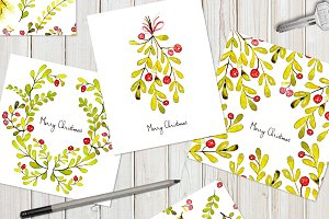 Christmas cards & tile patterns