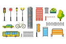 Street element and Urban transport