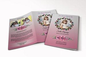 Funeral Program Template-V237