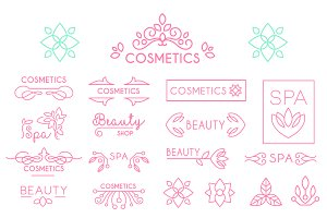 Beauty shops and cosmetic industry