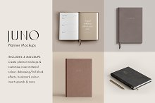 Juno - Planner Mockup Collection
