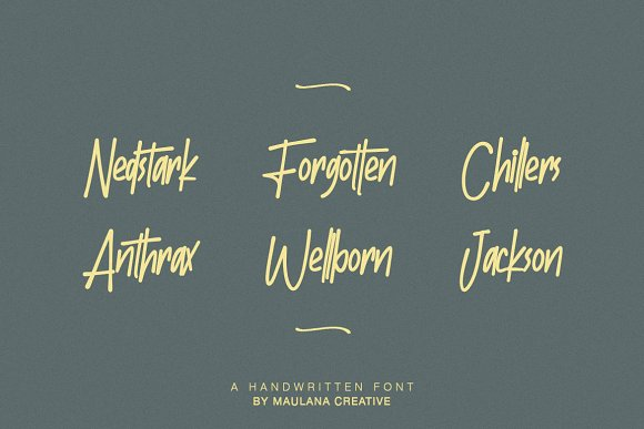 Batllers Handwritten Font in Display Fonts - product preview 4
