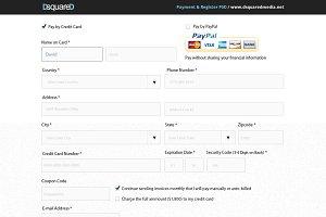 Payment & Register PSD