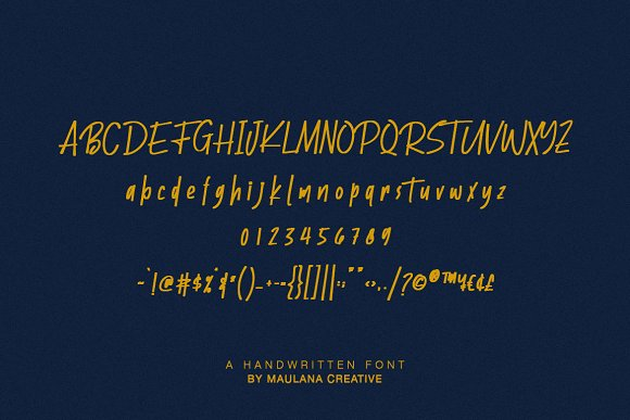 Batllers Handwritten Font in Display Fonts - product preview 9