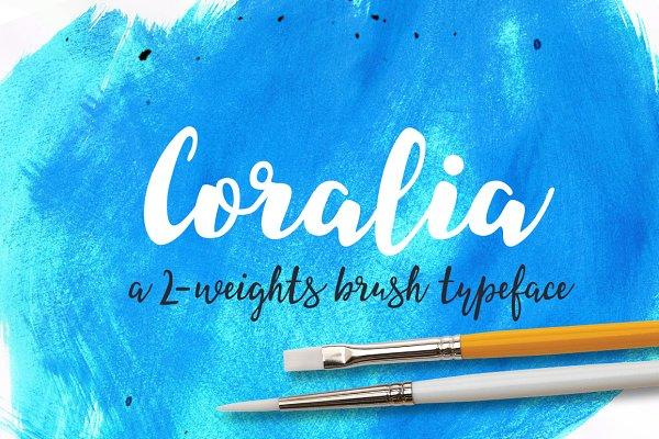 brush lettering font