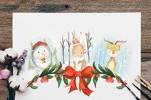 Woodland Animal Christmas Collection