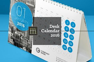 Desk Calendar 2016 (DC07)