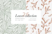 Leaves patterns collection