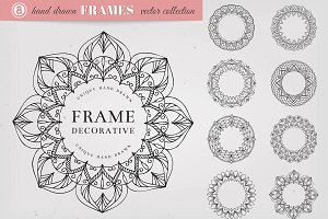 Hand Drawn Decorative Frames
