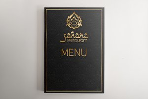 Vector arabic food restaurant menu