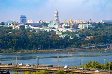 Kyiv panoramic view, Ukraine