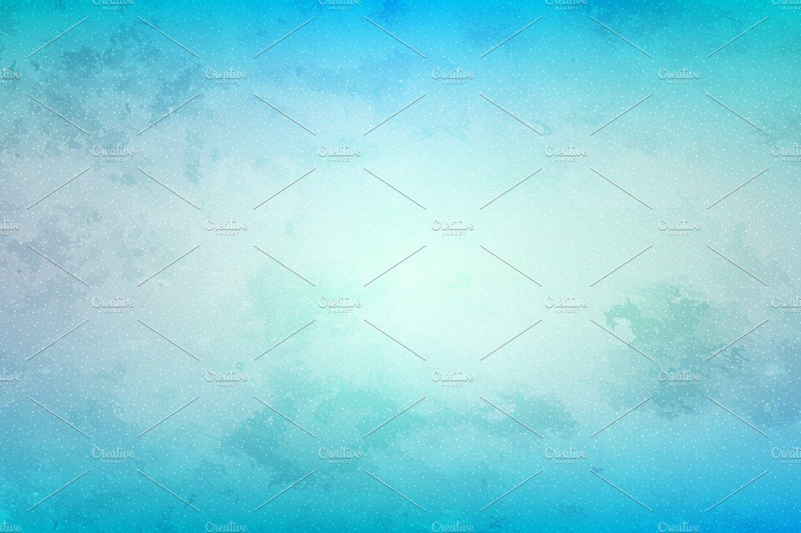 Blue Grunge Background: Blue Grunge Background