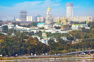 View of Kiev&Pechersk Lavra,Ukraine