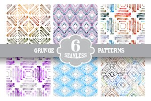 Grunge Seamless Patterns(2)