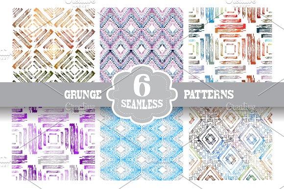 Grunge Seamless Patterns(2)