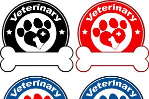 Paw Print Banners Collection- 8