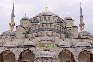 Sultanahmet Mosque, Istanbul.