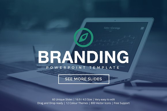 Branding powerpoint template presentation templates creative branding powerpoint template presentations toneelgroepblik Image collections