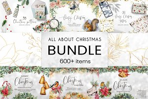 All about Christmas. Bundle 6 in 1