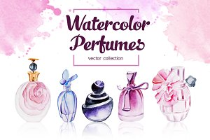 Watercolor Perfumes Collection