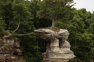 Chapel Rock, PIctured Rocks,