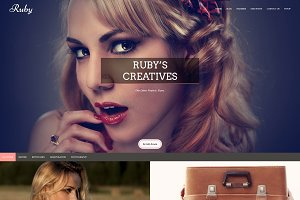 RUBY - Creative HTML5 Template