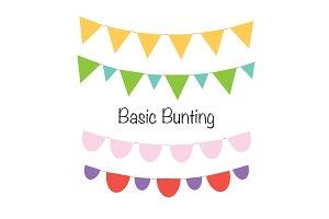 Basic Bunting Set