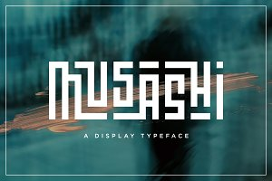 Musashi | Display Ligature Font