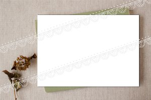 MOCK UP canvas herb 5 х 7