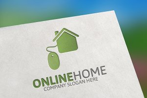 Online Home Search Logo