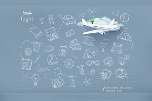 Flight infographics