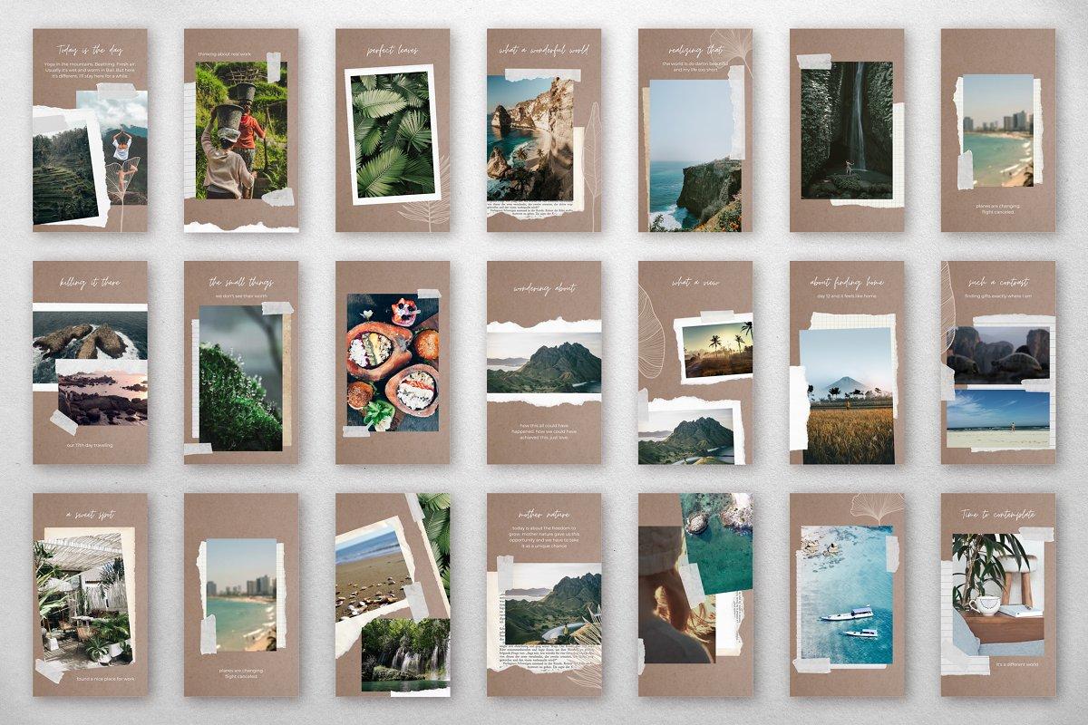 Scrapbook Diary – IG Story Templates