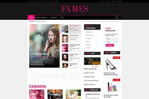Fames - Fashion News Joomla Template