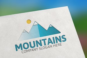 Mountains Logo -25%off
