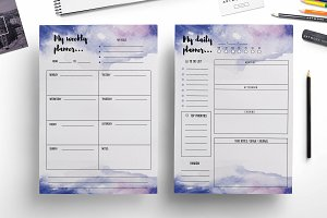 Weekly planner ,daily planner