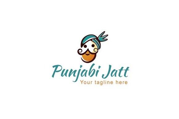 punjabi jatt stock logo template logo templates on
