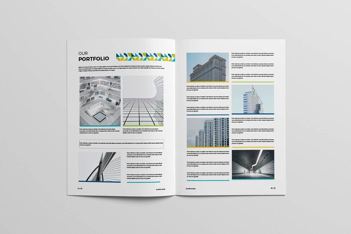 Modern Colorful Brochure